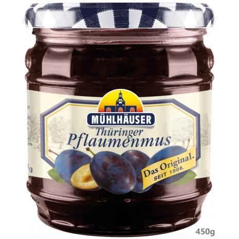 Muehlhaeuser Original Thuringian Plum Butter 15.9 oz Jar