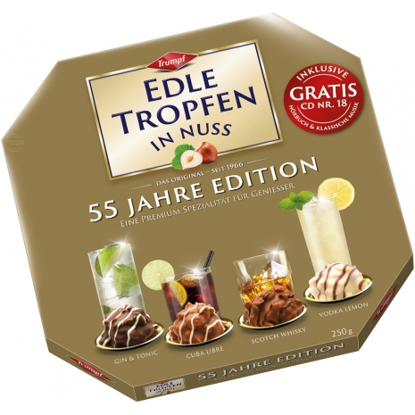 "Trumpf Edle Tropfen in Nuss ""Edition of the 55th Anniversary"" 8.82 oz"