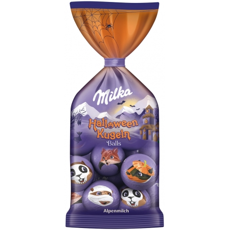 Milka Halloween Chocolate Balls 3.53 oz