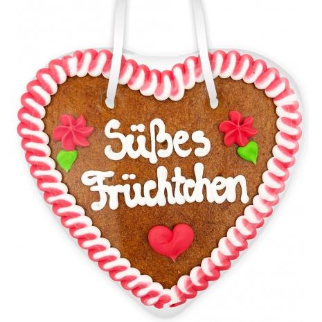 """Gingerbread Heart Medium """"Suesses Fruechtchen"""""""