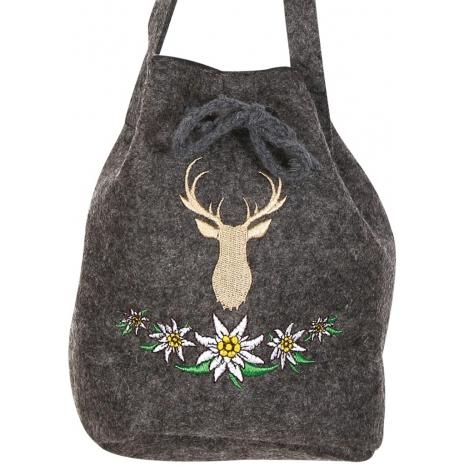 Shoulder Bag Bavaria 16 x 15 cm / 6.3 x 5.9 inches