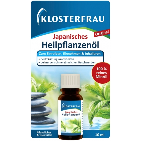 Klosterfrau Japanese Medicinal Plant Oil 10 ml
