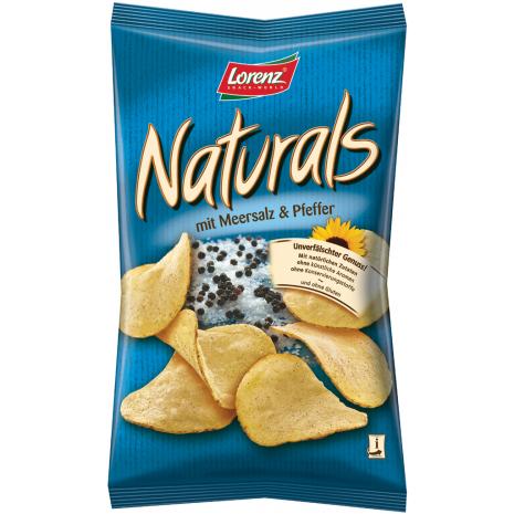 Lorenz Naturals Sea Salt & Black Pepper