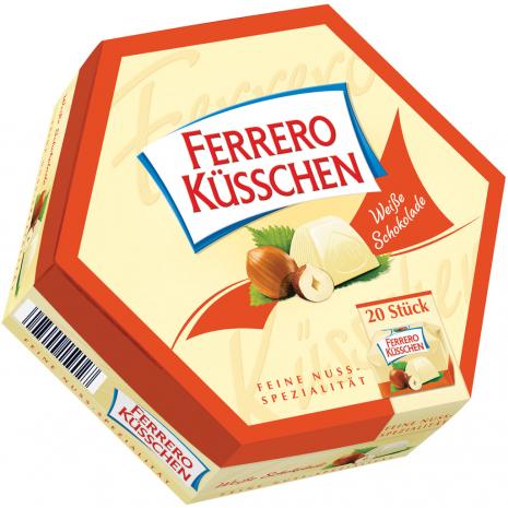 Ferrero Küsschen White Chocolate 20 Pieces
