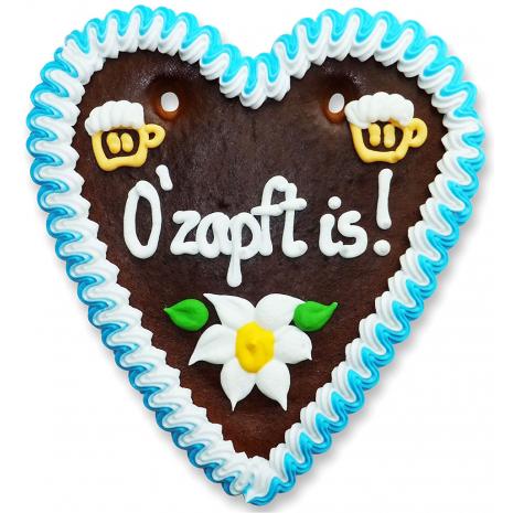 "Gingerbread Heart Medium ""O'zapft is!"""