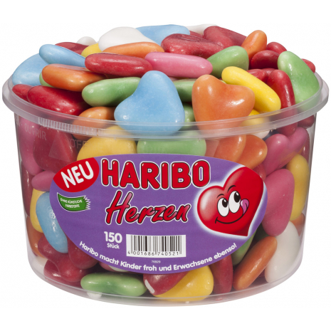 Haribo Meringue Hearts Box