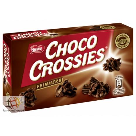 Nestl 233 Choco Crossies Dark Chocolate