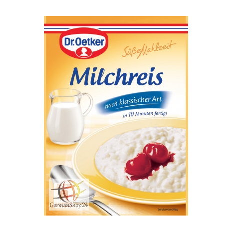 Dr. Oetker Sweet Meal Rice Pudding by Classic Style