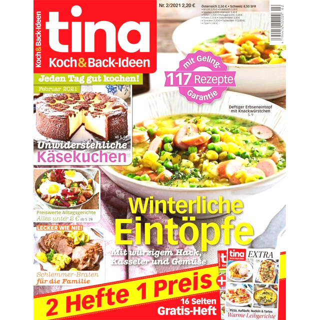 Tina Koch & Backen Magazine (one issue)