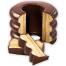 Baumkuchen Dark Chocolate Close-Up