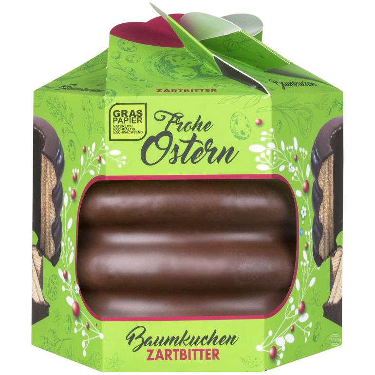 Easter Dark Chocolate Baumkuchen