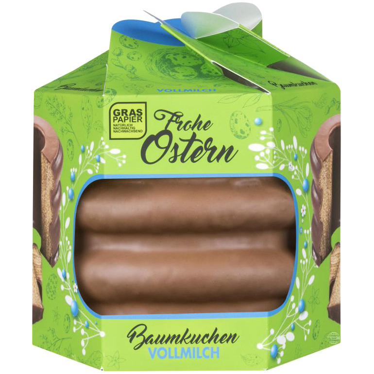Easter Milk Chocolate Baumkuchen