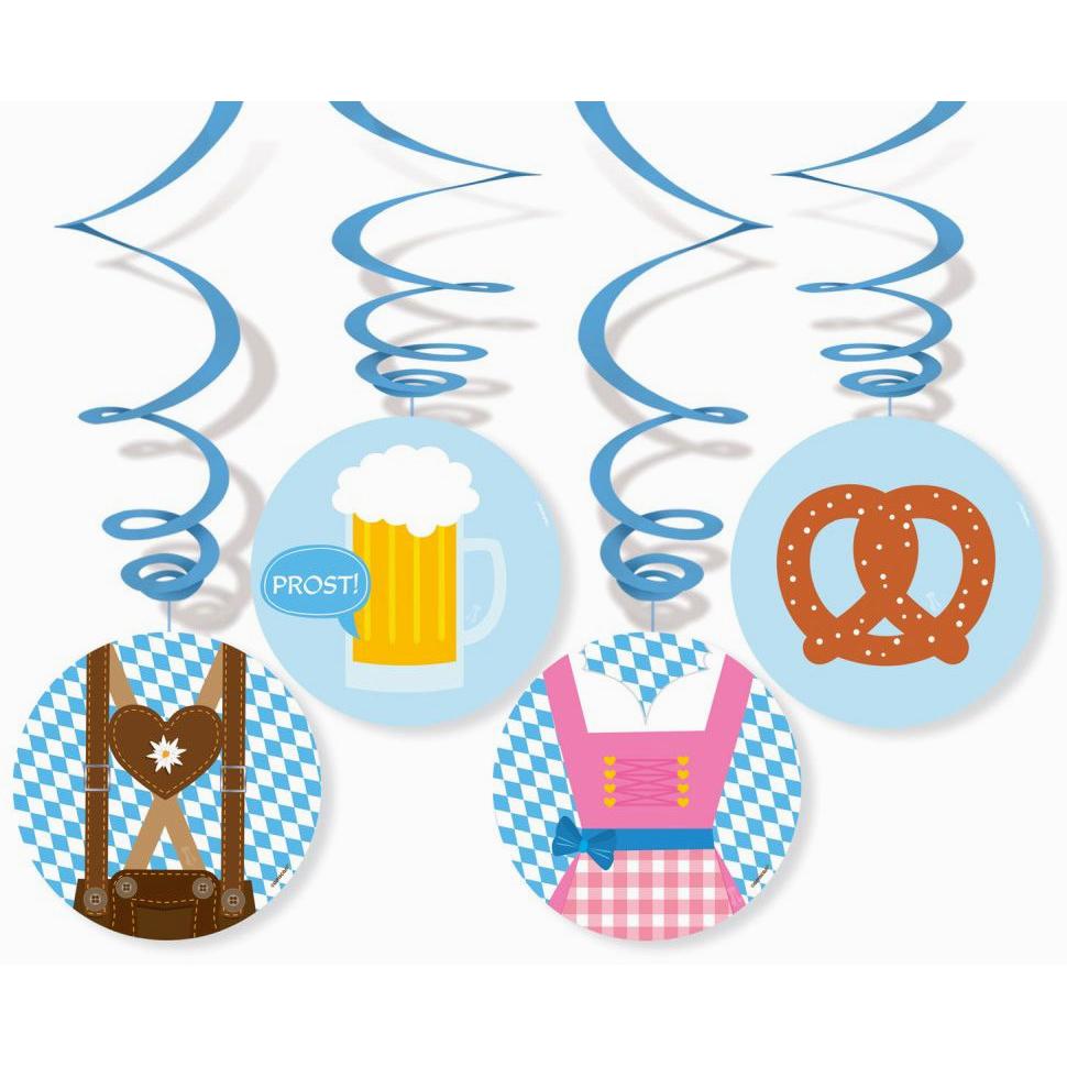 Bavarian Swirl Decorations